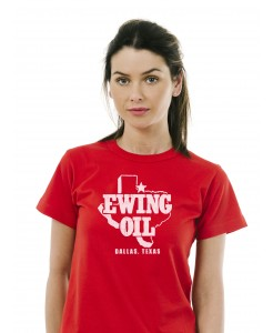 "Men's ""Texas Rockmore"" Music Legends Printed Cotton Blend T-shirt"