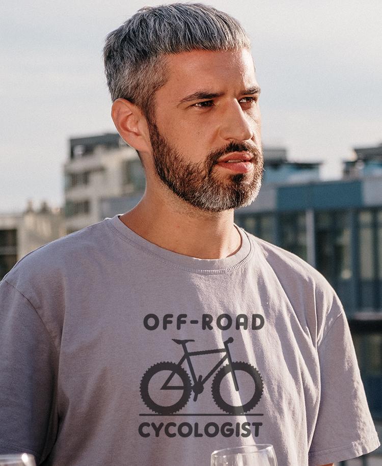 Mens Cycologist Bikers T-shirt