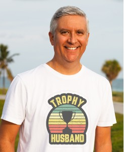 Trophy Husband Printed T-Shirt