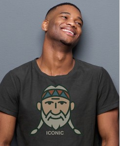 Vintage Willie the Icon Cotton-Blend T-shirt