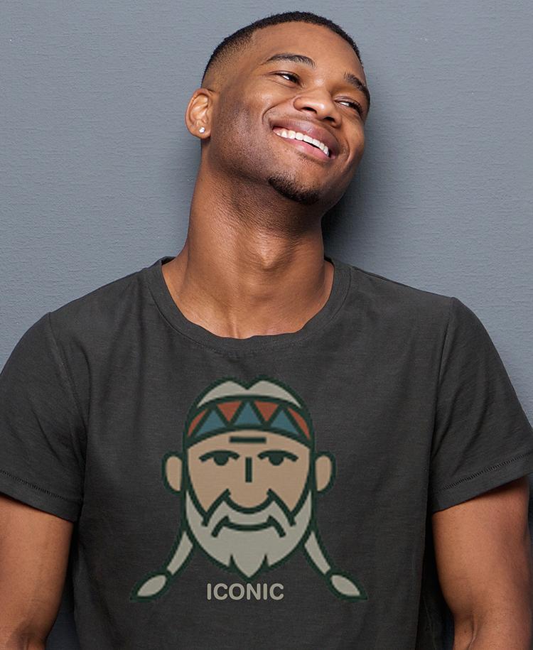 Vintage Willie the Icon Cotton-Blend T-shirt